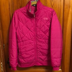 North face jacket Pink Size Large L